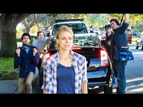 BEHIND THE SCENES: first feature film shot entirely on Prius backup camera