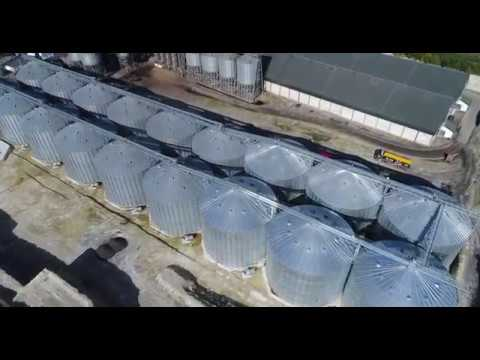 chesterford industial buildings drone aerial photography survey video