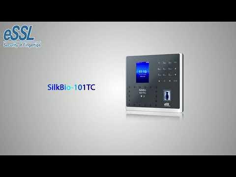 Face attendance machine with Fingerprint Silkbio 101 TC Best Fingerprint  with Face