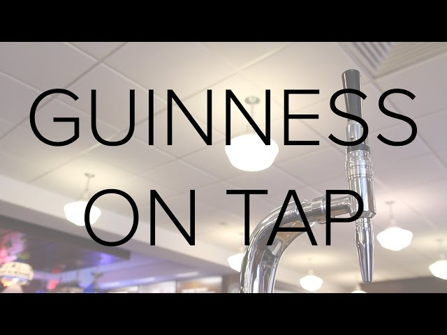 Guinness on Tap at Home: Three Differences from Standard Draft Systems