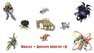 Roblox - Digimon Master: All Donation Digimons #2