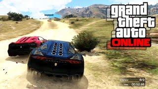 GTA 5 Online - Състезания   С пълна газ към успеха