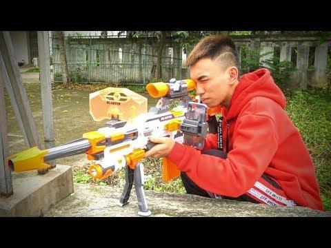 Trận Chiến Súng Nerf | Gun Battle Nerf - NCT Vlogs.