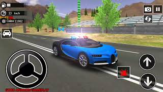 Police Drift Car Simulator #12 - BUGATTI Police Vehicle Android GamePlay FHD