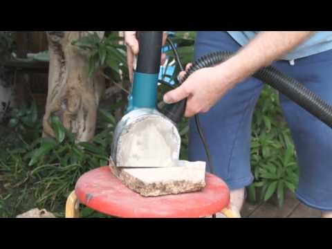 Dust Collector for Angle Grinder - DIY