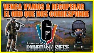 RAINBOW SIX: Vamos Por Esas Dos Partidas Que Faltan Para El Cobre, Que Sad - CERO TOXICIDAD