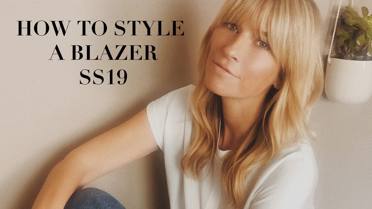 1 BLAZER AND HOW TO STYLE IT | 11 OUTFIT IDEAS FOR SPRING SUMMER 2