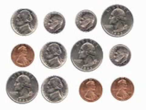 U.S. Coins Lesson: Counting Mixed Coins