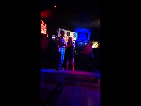 Scott and jessy karaoke!