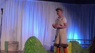 Check out this 11 years old boy performing at BB&N.