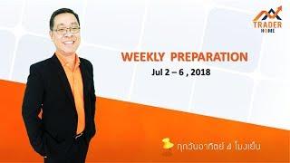 Forex สอน เทรด : 195 - Trading plan Jul 2 - 6, 2018