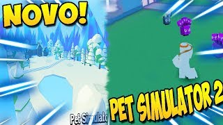 PET SIMULATOR 2 IS GETTING EPIC WITH NEW MAPS AND PETS SEE! -ROBLOX