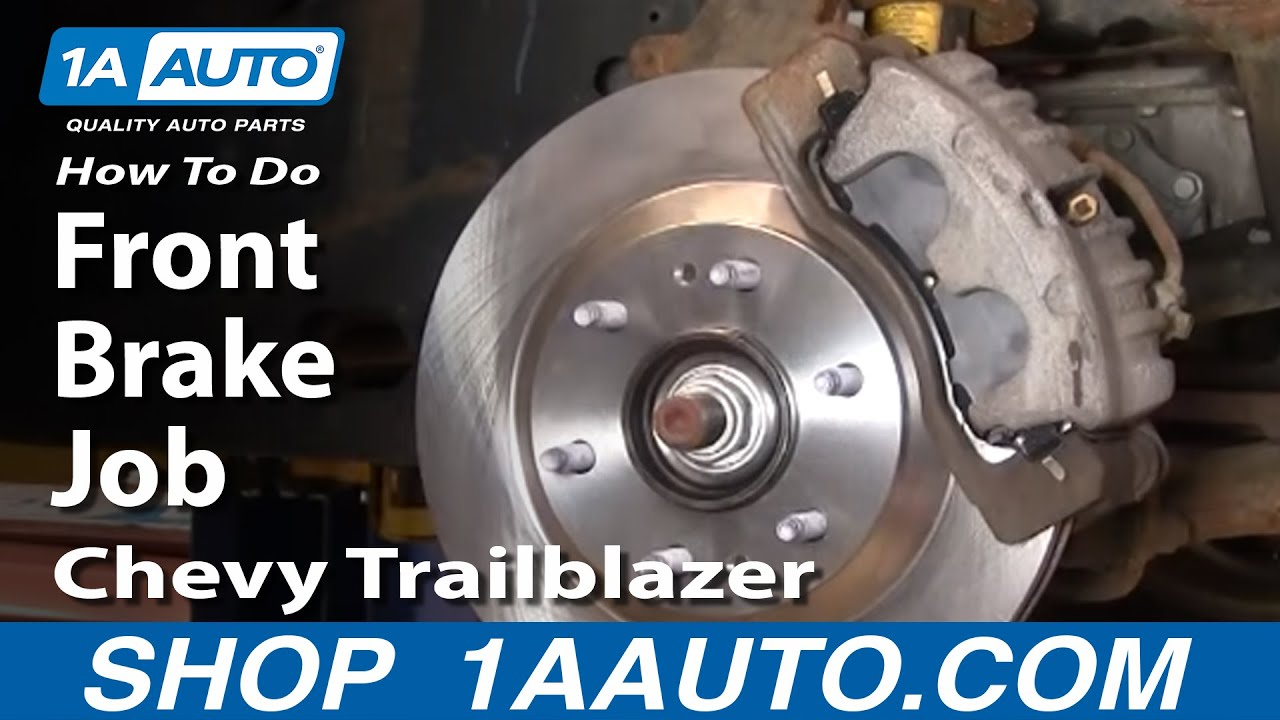 hight resolution of how to replace front brakes 02 05 chevy trailblazer 1a auto parts