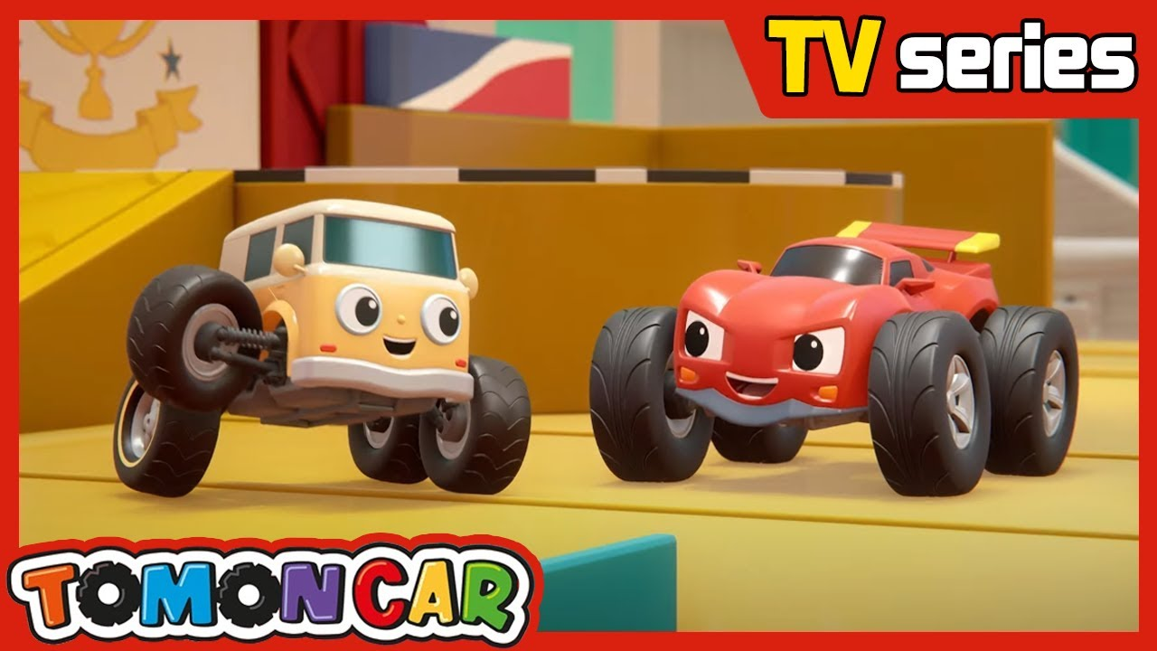 Original Episode 02|Don't  run too fast, Raymon! |Tomoncar world