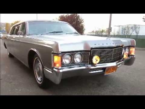 1969 historic lincoln continental limousine youtube
