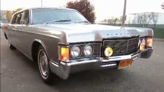 1969 Historic Lincoln Continental Limousine