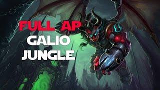 League of Legends - Off Meta Monday - Full AP Galio Jungle
