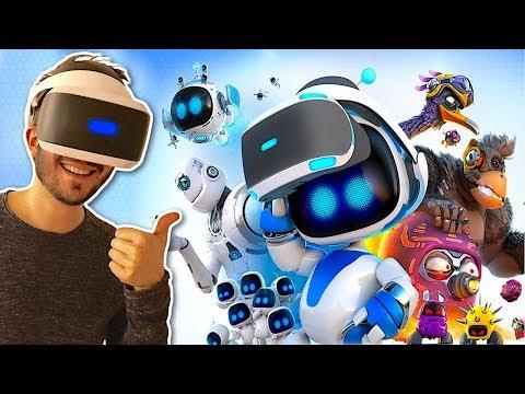 J'ai testé ASTROBOT, le Super Mario du PLAYSTATION VR ?