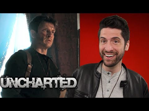 Uncharted  Film Starring Nathan Fillion!