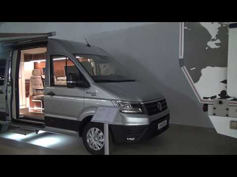 VW Crafter camper conversion from EBA camp