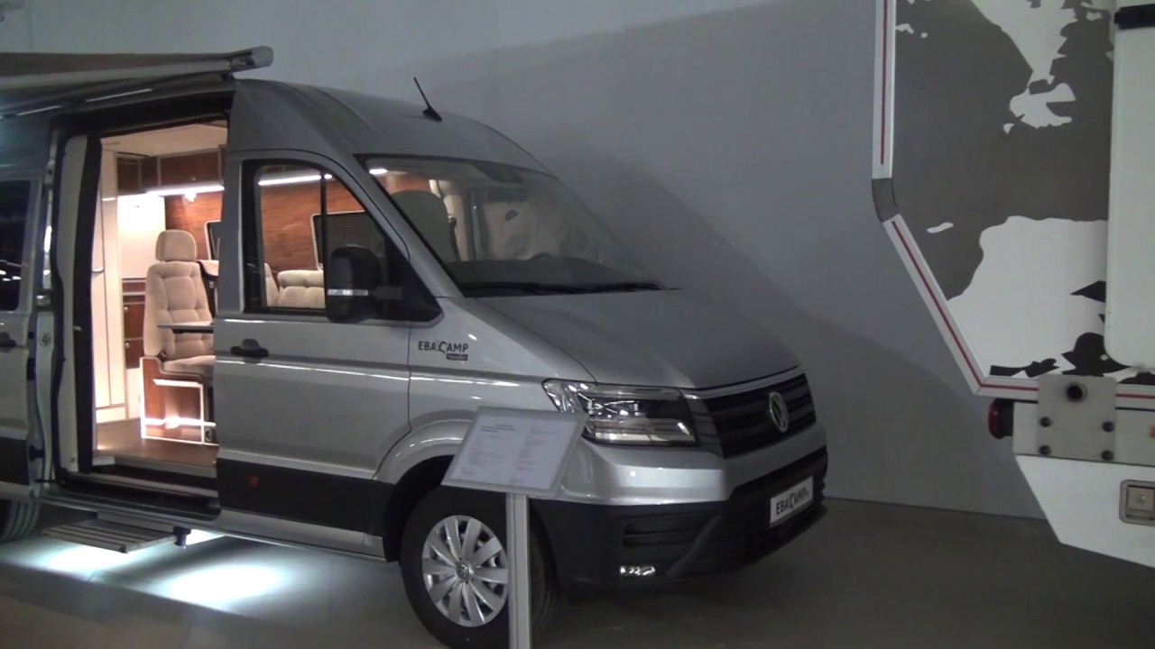 vw crafter camper conversion from ebacamp youtube. Black Bedroom Furniture Sets. Home Design Ideas