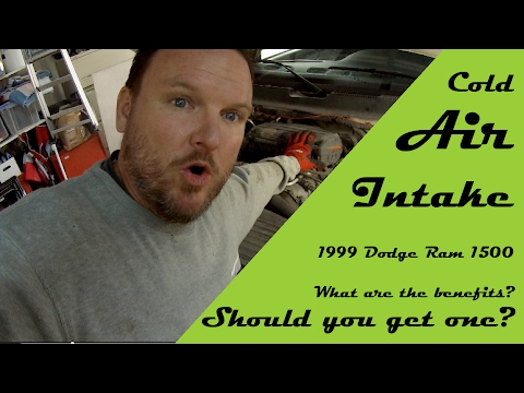 1999 Dodge Ram 1500 Cold Air Intake (unboxing/install/review) – Is it worth it?