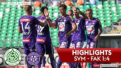 tipico Bundesliga, 26. Runde: SV Mattersburg - FK Austria Wien 1:4