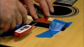 Repairing The Lifted Guitar Bridge Video On Dvd