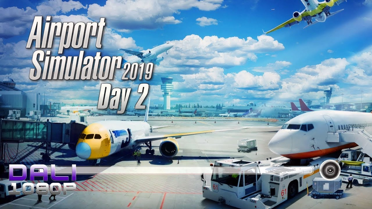 airport simulator 2019 39 day 2 39 more new vehicles youtube. Black Bedroom Furniture Sets. Home Design Ideas
