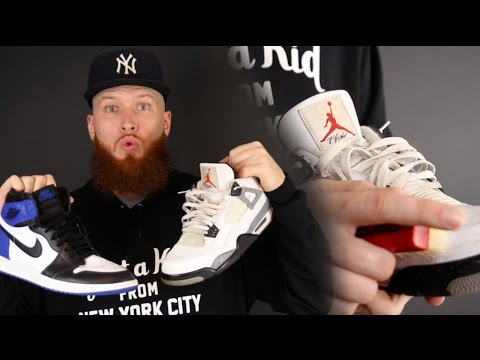 HOW TO CLEAN SNEAKERS AND REMOVE CREASES!