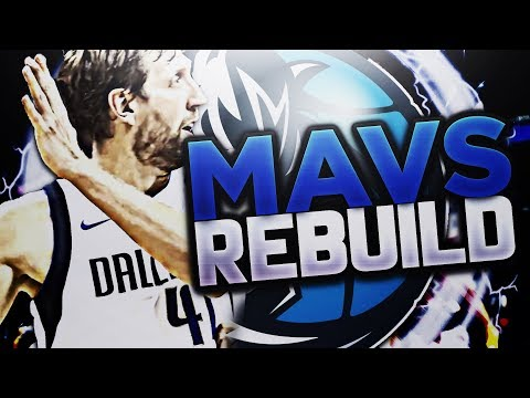 HUGE DRAFT DAY TRADE!! DALLAS MAVS REBUILD!! NBA 2K18