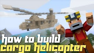 Minecraft Xbox 360: How to Build a Cargo Helicopter!