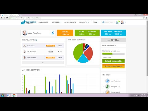 WebWork Tracker Tutorial for Owners and Managers
