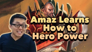 Amaz Learns How to Hero Power