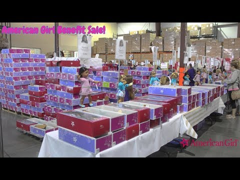 American Girl Benefit Sale VLOG 2018!