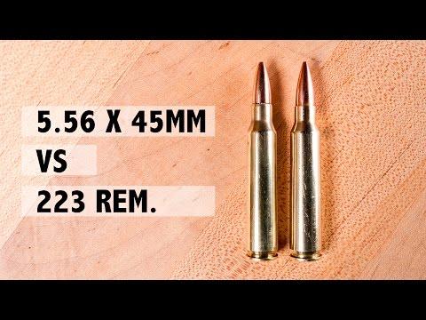 223 Rem. Vs. 5.56x45mm