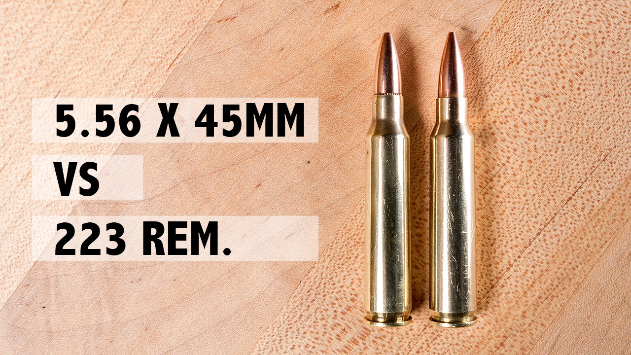 223 Rem Vs 556x45mm Youtube