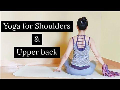 Yoga for Shoulders and Upperback l काब्धौ और कमर की जकड़न दूर करें l Archie's Yoga