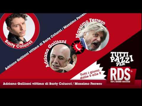 Adriano Galliani vittima di Barty Colucci/Massimo Ferrero