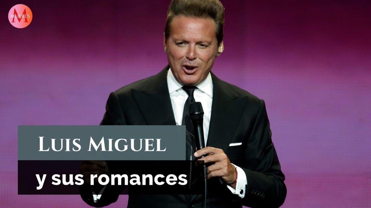 Luis Miguel y los romances que marcaron su vida (y su música)