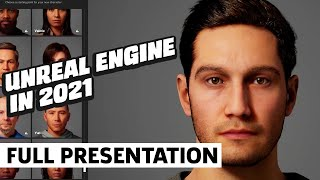 Unreal Engine in 2021: MetaHumans, Quixel, and Beyond | GDC 2021