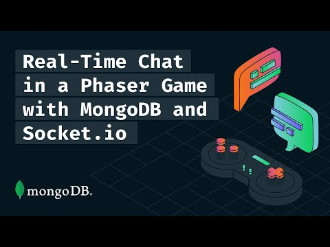 Real-Time Chat in a Phaser Game with MongoDB and SocketIO