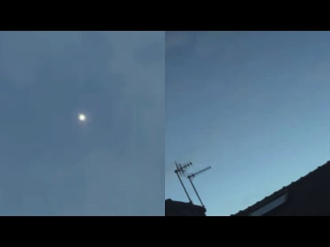 Fascinating UFO Moving in Erratical Pattern over Family's House in Barnoldswick (UK) - FindingUFO