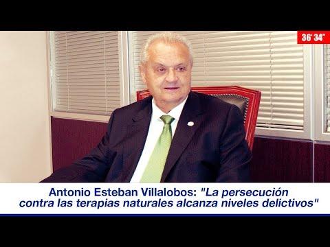 """A. ESTEBAN VILLALOBOS: """"LA PERSECUCIÓN CONTRA LAS TERAPIAS NATURALES ALCANZA NIVELES DELICTIVOS"""