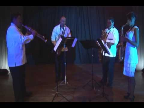 MEDLEY CHIAPAS.  EQUINOXIO Cuarteto de Saxofones de Cancun