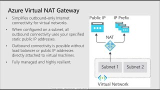 Azure Virtual NAT Gateway