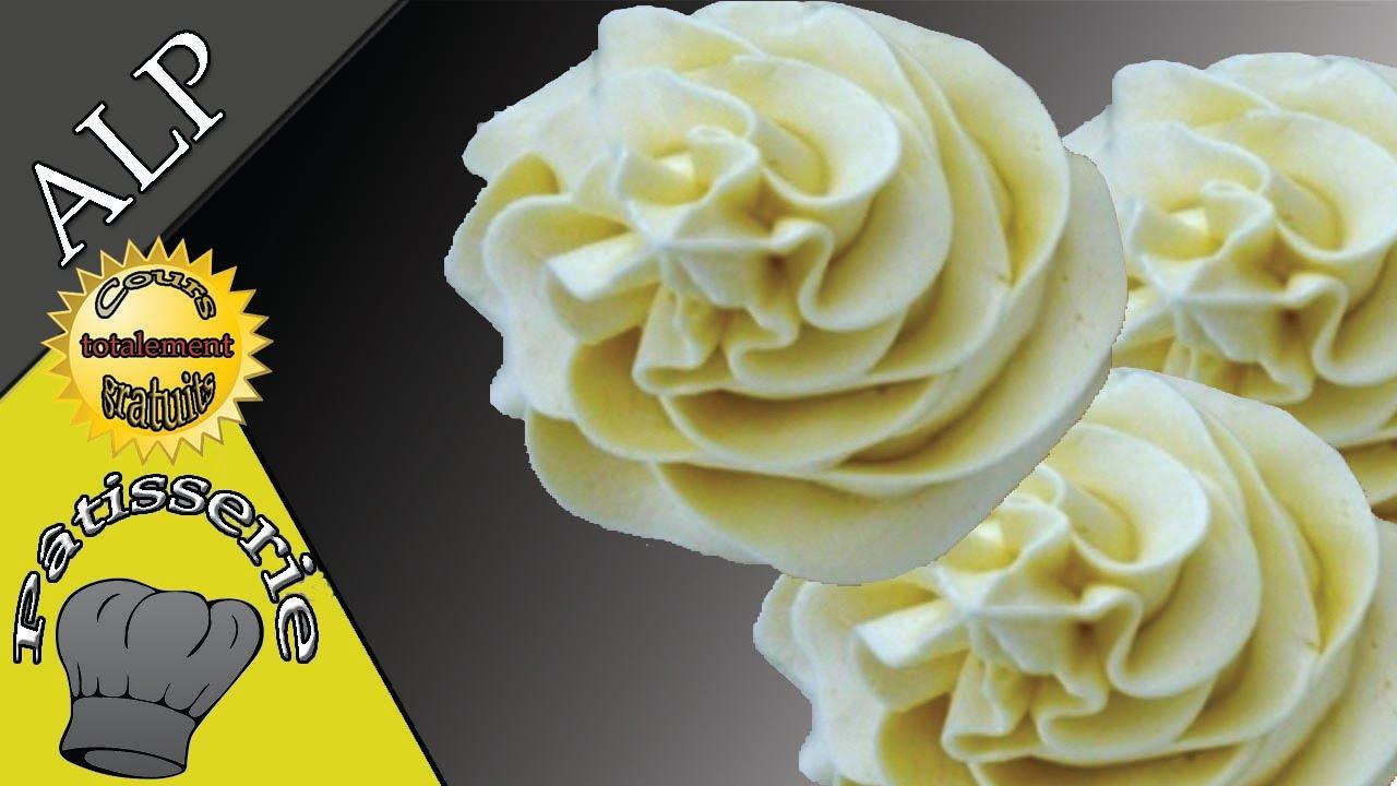 La crème au beurre fait-maison - Buttercream - ALP - YouTube