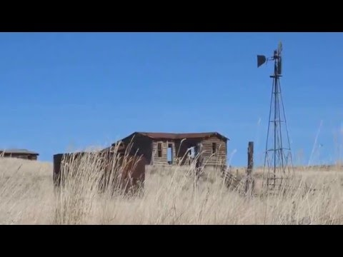 Abandoned Ranch On The Prairie