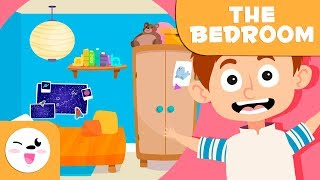 Learning the Bedroom - Vocabulary for kids