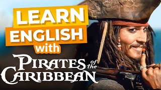 Ready for fun? in this video, you will laugh with johnny depp as learn english pirates of the caribbean! we follow jack sparrow and turner...